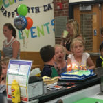 Birthday Party at the Youth Center!